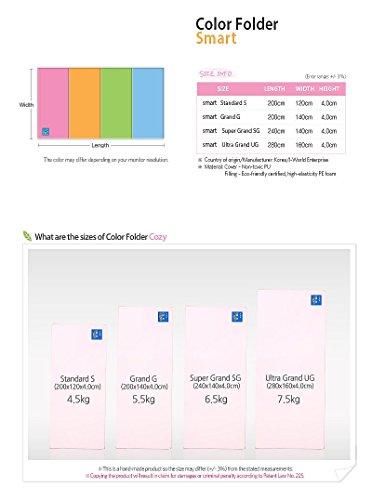 Alzip Color Folder Mat Smart Color Sg 240 X 140 X 4cm Buy