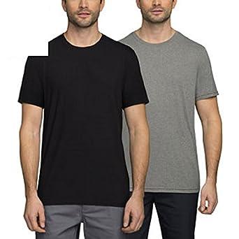 Amazon.com: 32 Degrees Weatherproof® Men's Cool Tee Short Sleeve ...