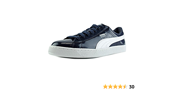 Amazon.com | PUMA Basket (Matte & Shine) | Shoes