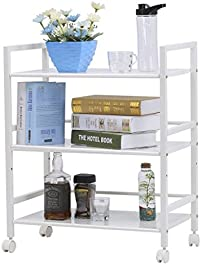 LANGRIA 3 Tier Wire Mesh Rolling Cart For Serving Utility Organization Kitchen  Cart Easy Moving