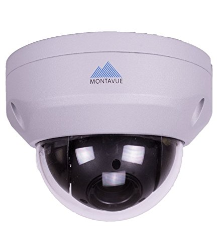 Montavue MTZ2040 Pan-Tilt-Zoom (PTZ) Speed Dome Camera with 1080P HD Resolution, 4x Zoom, and Color Night Optics by Montavue