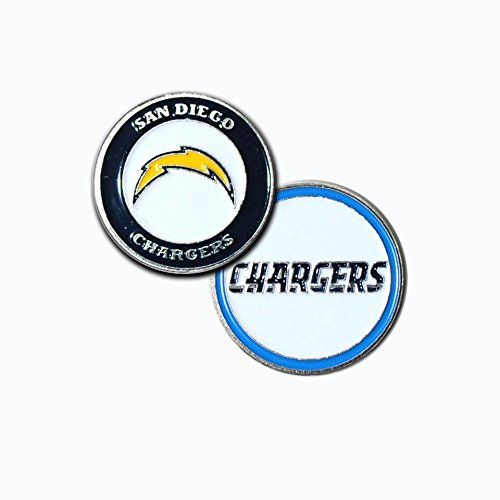 San Diego Chargers Ball Marker Set by Team Golf