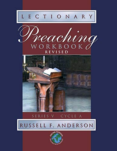 Cover Lectionary - Lectionary Preaching Workbook (softcover)