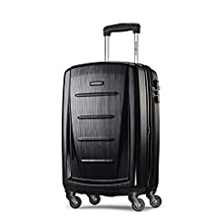 Travel Junkie 41kaZv2wu0L._SS247_ Samsonite Winfield 2 Hardside Luggage with Spinner Wheels, Brushed Anthracite, Carry-On 20-Inch