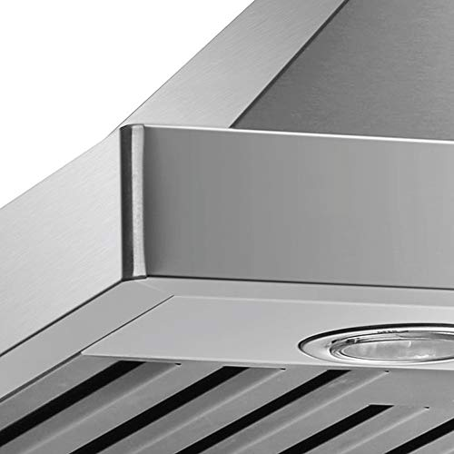 Dkb 30 Quot Inch Range Hood Wall Mounted Brushed Stainless