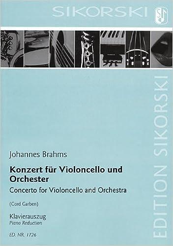 Concerto for Violoncello and Orchestra: Cello and Piano