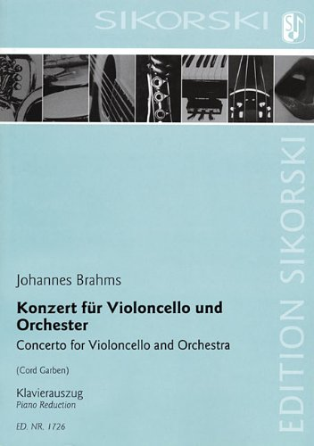 Concerto for Violoncello and Orchestra: Cello and Piano Reduction by Sikorski