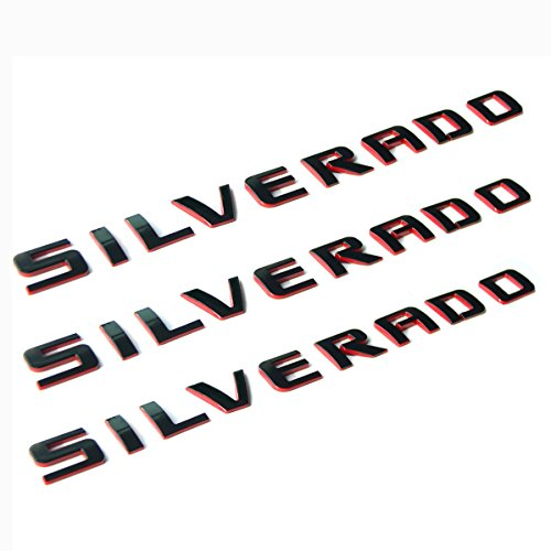black silverado letters - 8