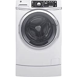 GE GFW490RSKWW 4.9 Cu. Ft. White Front Load With Steam Cycle Washer - Energy Star