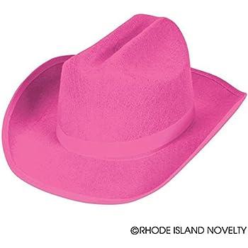 b7c005f664891 Amazon.com  Pink Felt Cowgirl Fashion Hat – Perfect Accessories for ...