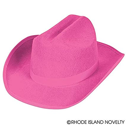 447be1b9c44 Image Unavailable. Image not available for. Color  Rhode Island Novelty  Child s Felt Classic Western Cowboy Hat