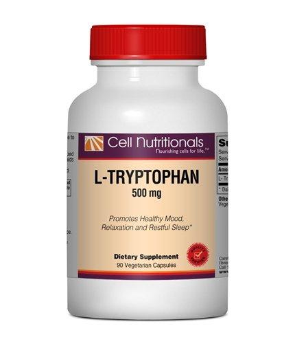 L-tryptophane - 500 mg, 90 capsules végétariennes