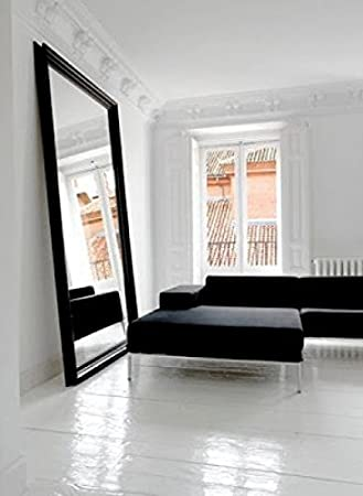 Extra Large Over Sized Floor to Wall Framed Mirror. Overall Size ...