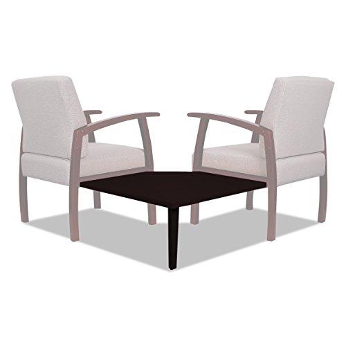 Alera ALERL7628M Reception Lounge 700 Series Gang Table, Corner, 27 1/2 x 27 1/2, Mahogany (Corner Alera Desk)