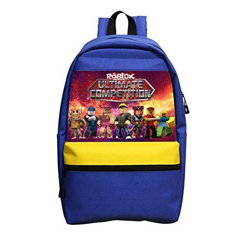 Rob-lox,Kindergarten and elementary school backpack, boy and girl backpack by ZALOA