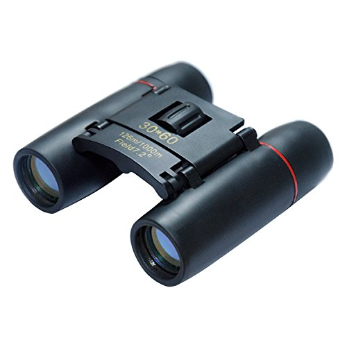 Binoculars Folding Wide Angle Compact Binoculars with Low Light Night Vision Waterproof Zoom Long...