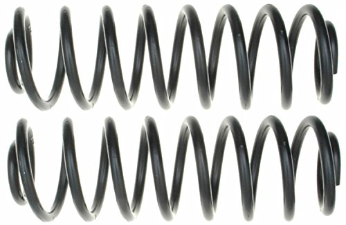 ACDelco 45H2139 Professional Rear Coil Spring Set (Jetta Springs Coil 99)