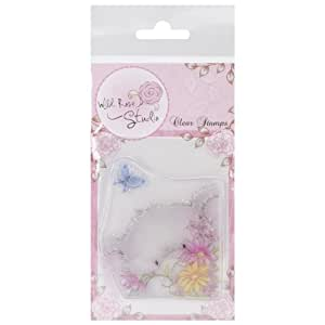 Wild Rose Studio Ltd. Clear Stamp Set-Bella and Butterfly