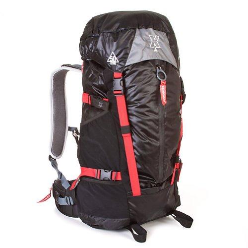 Coleman Exponent Tatarian X55 Internal-Frame Pack,Black, Outdoor Stuffs