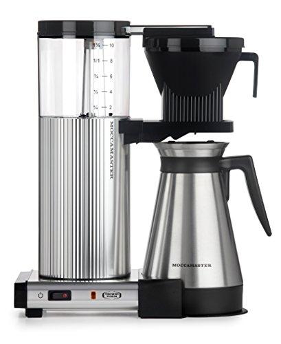 Technivorm Moccamaster 89912 Coffee Machines, 40 oz, Polished - Coffee Drip Technivorm Maker