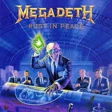 De Megadeth - desterréis en paz - Póster de montaje en