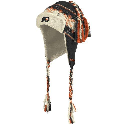 Reebok Philadelphia Flyers 2012 Winter Classic Trooper Tassle Knit Hat One Size Fits All