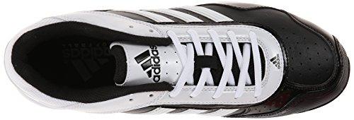 Adidas Performance Womens Abbott Pro Metal 2 Tacchetta Softball Nero / Bianco / Nero Corrente 1