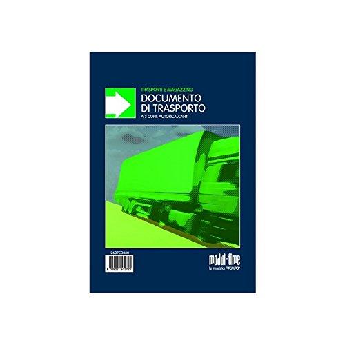 Documento di trasporto ddt 33x3 autoricalcante in triplice copia Intempo
