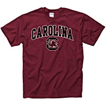 Campus Colors NCAA Adult Arch & Logo Soft Style Gameday T-Shirt - Multiple Teams, Sizes