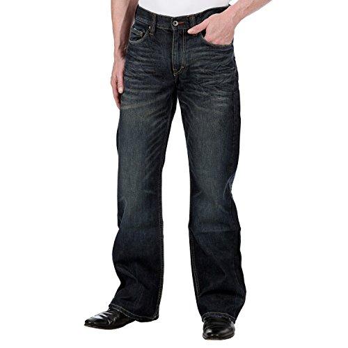 Mustang - Jeans - Homme Bleu 595 DarkBlue