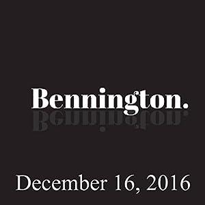Bennington, December 16, 2016 Radio/TV Program