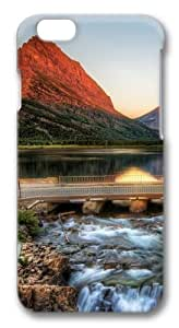 The Glacier National Park At Sunrise Custom ipod touch4 inch Case Cover Polycarbonate 3D