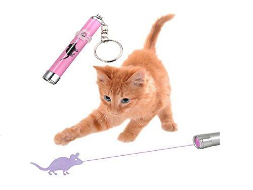 LED MAUSMOTIV Pointer, Katzenspielzeug, Schlüsselanhänger ®Bearlink