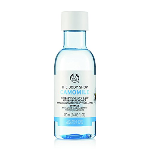 The Body Shop Camomile Waterproof Eye and Lip Makeup Remover