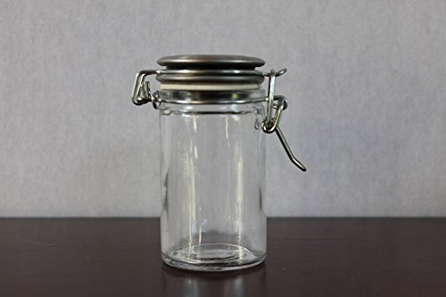 glass jug with sealed lid - 4