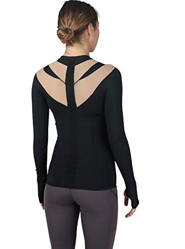 IntelliSkin Womens Newest Foundation Long Sleeve - Ultimate Posture Correcting Long Sleeve Shirt for Women