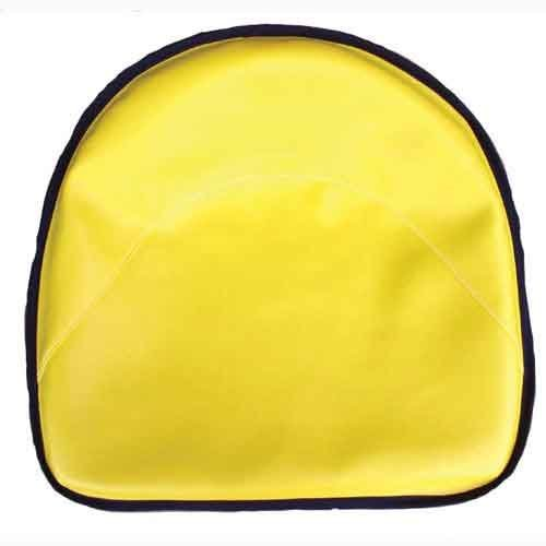 All States Ag Parts Pan Seat 19'' Deluxe Cushion Vinyl Yellow Compatible with John Deere D 2020 L 2030 GW GN 1010 780 A GH H 45 G B 1020