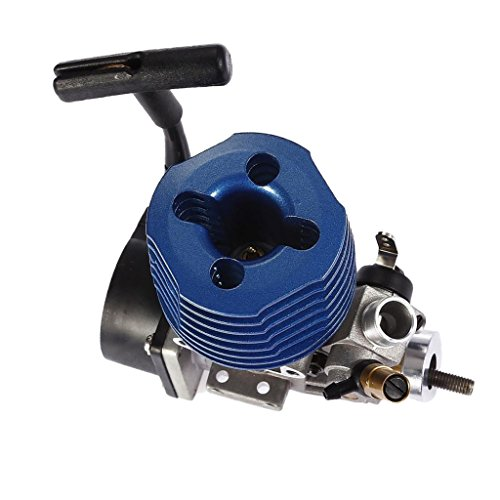 Baoblaze RC 1/10 Nitro SH 18 Side ENGINE MOTOR, fits for HSP HPI Redcat Hobao Traxxas