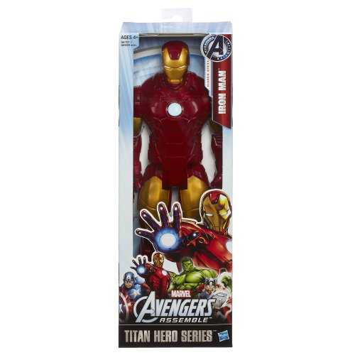 Avengers Series Marvel Assemble Titan Hero Iron Man 12″ Action Figure