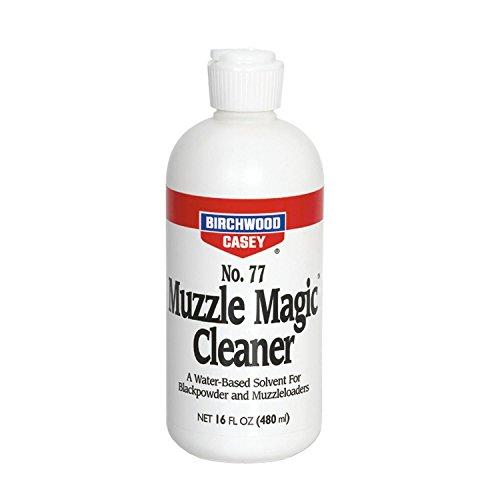 Birchwood Casey Muzzle Magic No. 77 Cleaner, Black Powder, Flip Top 16 oz.