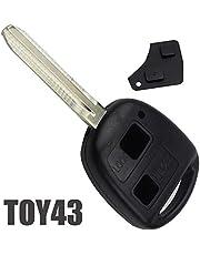 Radiosleutelbehuizing met 2 toetsen voor Toyota Referentie Toy43