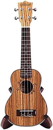 ZZRS ギグバッグ、ストリング、ストラップ、ピックのETC(21「/ 23」)とウクレレ初心者、ミュート小型ギター、4列ウクレレランチ (Color : Brown)