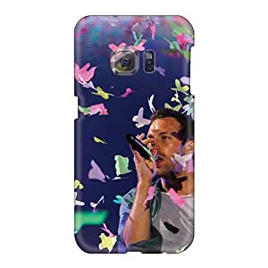 Samsung Galaxy S6 Dbk8423oZUc Provide Private Custom Realistic Coldplay Band Pattern Anti-Scratch Hard Cell-phone Cases -Marycase88