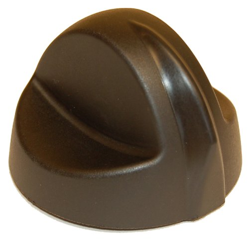 Music City Metals 07309 Plastic Control Knob Replacement for Select Charbroil and Thermos Gas Grill (Gas Grill Replacement Control Knob)