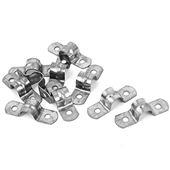 eDealMax 12mm Dia 304 U de Acero inoxidable en Forma de Silla Brida de tubo 10pcs: Amazon.com: Industrial & Scientific