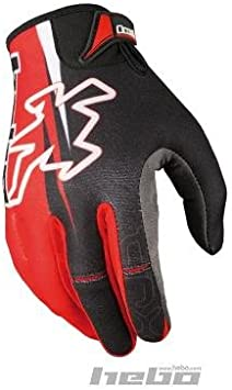 HEBO HE1155RS Trial Pro Tr-X Guantes, Rojo, Talla S