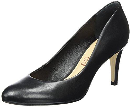 Buffalo London 111714i Vegetal, Zapatos de Tacón para Mujer Negro (Black 01)