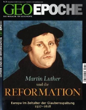 Geo Epoche 39/2009: Martin Luther und die Reformation (inkl. DVD)
