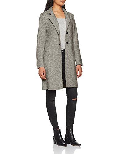 ONLY Women's Onlvikki Wool Cc OTW Coat Grey (Light Grey Melange Light Grey Melange)