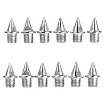 Footful 12Pcs of Replacement Shoes Spikes for Sports Running Track Shoes Trainers 7MM